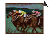 Horse Race No.5 Posters by Robert McIntosh