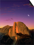 Half Dome at Twilight Art by Bill Ross