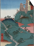 Kanesaka of Tanba Posters by  Hiroshige II