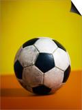 Soccer Ball Print by Randy Faris