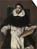Fray Hortensio Felix Paravicino Art by  El Greco