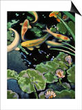 Goldfish Pond Prints by Robert McIntosh