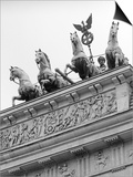 Statues on Top of Brandenburg Gate Prints by Murat Taner