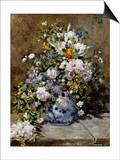 Spring Bouquet Prints by Pierre-Auguste Renoir