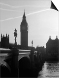 View of Big Ben from Across the Westminster Bridge Prints by Jack Hollingsworth