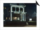 Rooms for Tourists Poster par Edward Hopper
