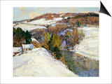 Winter Landscape Prints by George Gardner Symons