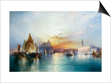 Venice Prints by Thomas Moran