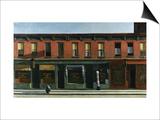 Tôt un dimanche matin, 1930 Poster par Edward Hopper