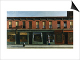 Early Sunday Morning Poster by Edward Hopper