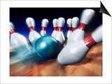 A Bowling Strike Affiches par Matthias Kulka