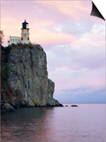 Split Rock Lighthouse on Lake Superior Posters by Joseph Sohm
