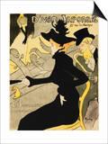 Divan Japonais Póster por Henri de Toulouse-Lautrec