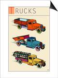Trucks Prints by Steve Collier