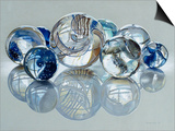 Glassies Marbles XIV Prints by Charles Bell
