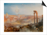 Modern Rome-Campo Vaccino Prints by J. M. W. Turner