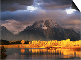 Mount Moran Prints by Robert Glusic