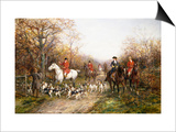Going Through the Copse Posters by Heywood Hardy