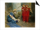 Angels and Holy Child Prints by Marianne Stokes