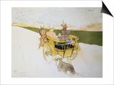 Countryside Departure Arte por Henri de Toulouse-Lautrec