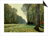 The Path of Chailly Prints by Claude Monet