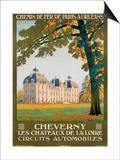 Cheverny les Chateaux de la Loire Prints by Constant Duval