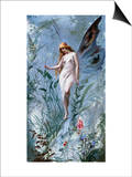 The Lily Fairy Posters by Luis Ricardo Falero