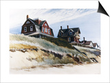 Cottages de Wellfleet Affiches par Edward Hopper