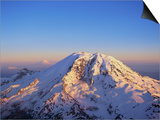 Aerial View of Mount Rainier Prints by Bill Ross
