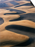 Wheat Fields of the Palouse Hills Prints by Joseph Sohm