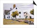 Maison à Essex, Massachusetts Poster par Edward Hopper