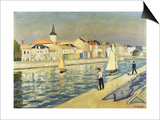 Anglers at Chaume Prints by Albert Marquet