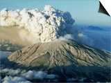 1980 Eruption of Mount St. Helens Art by Gary Braasch