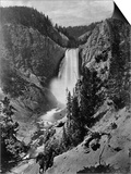 Lower Falls in the Grand Canyon of the Yellowstone Prints