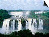 Iguazu Waterfalls in South America Posters av Joseph Sohm