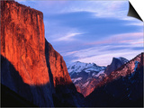 El Capitan at Sunset Prints by Bob Jacobson