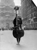 Walking Violin in Philadelphia Mummers' Parade, 1917 Poster by  Bettmann