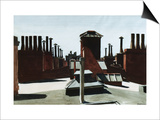 Roofs of Washington Square Posters par Edward Hopper