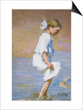 Wading at the Shore Prints by Edward Henry Potthast