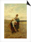 The Gleaners Poster by Frederick Morgan