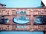 Ponte Vecchio over the Arno River Posters by Ron Solomon