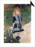 Girl with a Watering Can Prints by Pierre-Auguste Renoir