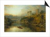 Durham Cathedral, England Art by Henry Dawson
