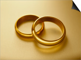 Pair of Wedding Bands Poster by Christopher C Collins