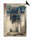 Illustration from a Collection Entitled The Holy Land, Syria, Idumea, Arabia, Egypt & Nubia Posters by David Roberts