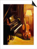 Duet Poster by Pam Ingalls