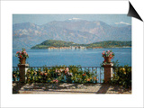 View of the Isola Bella, Italy Prints by Angelo Morbelli