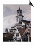 Eglise méthodiste, Provincetown Posters par Edward Hopper