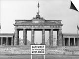 Brandenburg Gate, Berlin, 1966 Art
