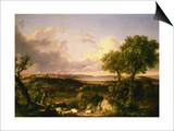 View of Boston Prints by Thomas Cole